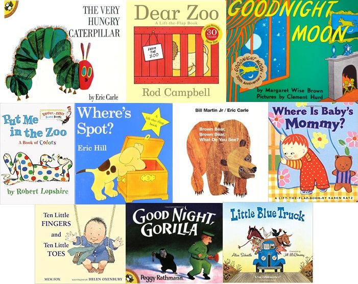 Ten books you should read to yourone-year-old